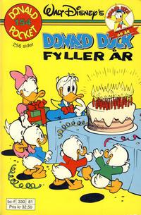 Cover Thumbnail for Donald Pocket (Hjemmet / Egmont, 1968 series) #154 - Donald Duck fyller år [Reutsendelse]