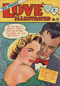 Cover Thumbnail for Love Illustrated (Magazine Management, 1952 series) #15