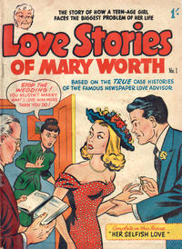 Cover Thumbnail for Love Stories of Mary Worth (Magazine Management, 1950 ? series) #1