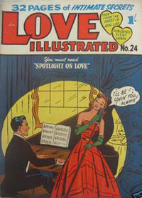 Cover Thumbnail for Love Illustrated (Magazine Management, 1952 series) #24