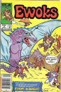 Cover Thumbnail for The Ewoks (Marvel, 1985 series) #3 [Newsstand]