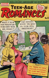 Cover Thumbnail for Teen-Age Romances (Magazine Management, 1954 ? series) #33