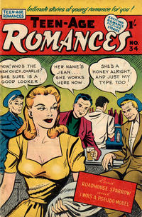 Cover Thumbnail for Teen-Age Romances (Magazine Management, 1954 ? series) #34