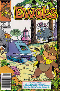 Cover Thumbnail for The Ewoks (Marvel, 1985 series) #5 [Newsstand]