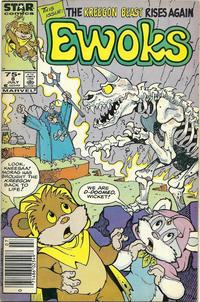 Cover Thumbnail for The Ewoks (Marvel, 1985 series) #8 [Newsstand]