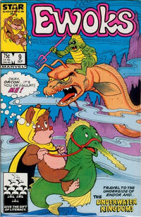 Cover for The Ewoks (Marvel, 1985 series) #9 [Newsstand]