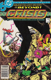 Cover for Crisis on Infinite Earths (DC, 1985 series) #2 [Direct Sales]