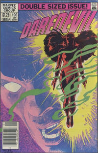 Cover Thumbnail for Daredevil (Marvel, 1964 series) #190 [Canadian]