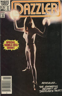 Cover for Dazzler (Marvel, 1981 series) #21 [Direct]
