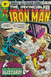 Cover for Iron Man (Marvel, 1968 series) #86 [25¢ Edition]