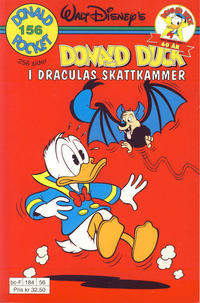 Cover Thumbnail for Donald Pocket (Hjemmet / Egmont, 1968 series) #156 - Donald Duck i Draculas skattkammer [1. opplag]