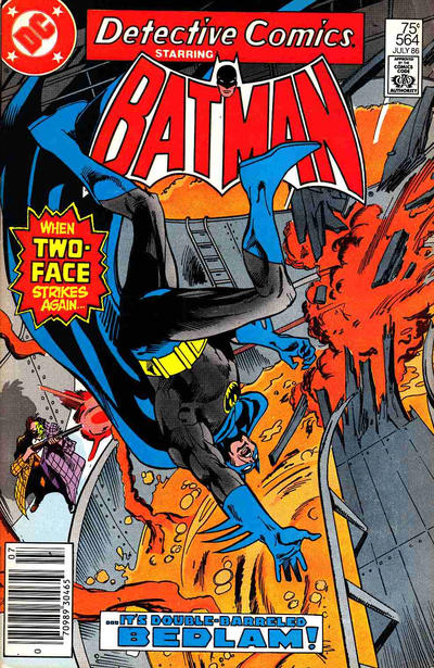 Cover for Detective Comics (DC, 1937 series) #564