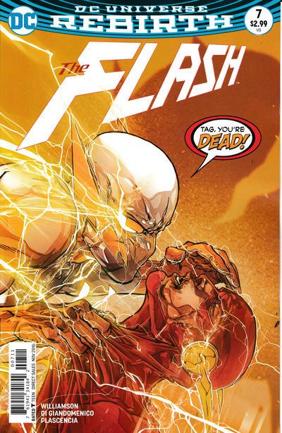 Cover for The Flash (DC, 2016 series) #7 [Carmine Di Giandomenico Cover]