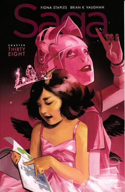 Cover for Saga (Image, 2012 series) #38
