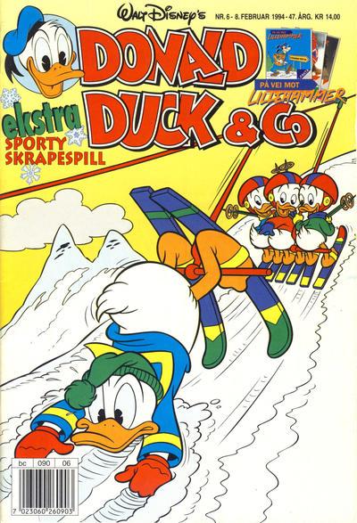 Cover for Donald Duck & Co (Hjemmet / Egmont, 1948 series) #6/1994