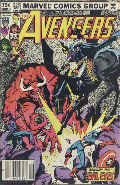 Cover for The Avengers (Marvel, 1963 series) #226 [Direct Edition]