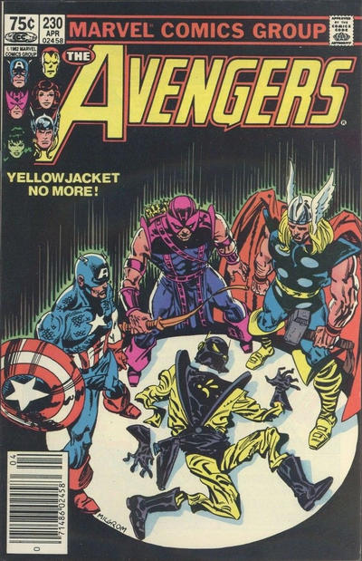 Cover for The Avengers (Marvel, 1963 series) #230 [Newsstand Edition]