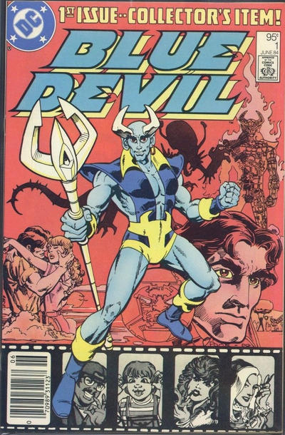 Cover for Blue Devil (DC, 1984 series) #1 [Direct Edition]