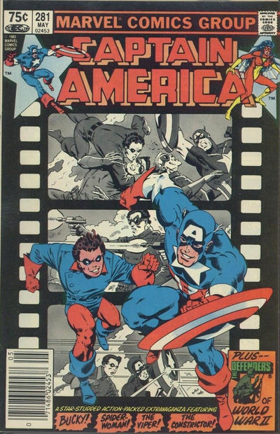 Cover for Captain America (Marvel, 1968 series) #281 [Direct]