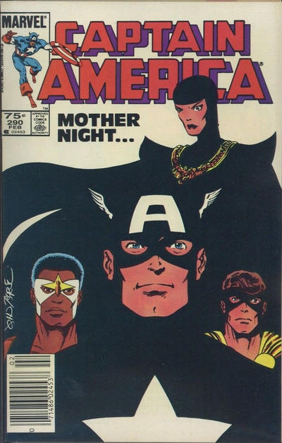 Cover for Captain America (Marvel, 1968 series) #290 [Direct Edition]