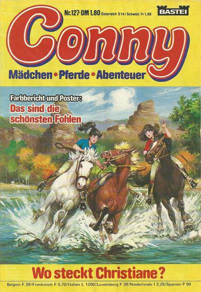 Cover for Conny (Bastei Verlag, 1980 series) #127