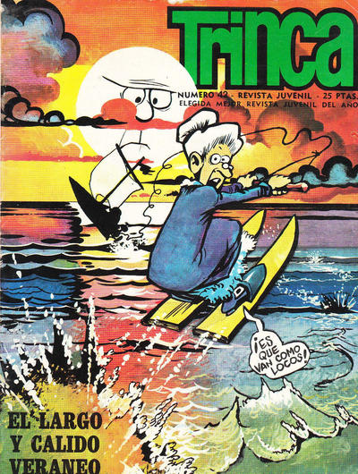 Cover for Trinca (Doncel, 1970 series) #42