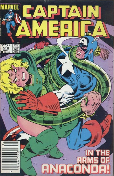 Cover for Captain America (Marvel, 1968 series) #310 [Direct]