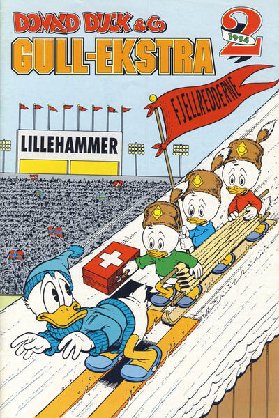 Cover for Donald Duck & Co Ekstra [Bilag til Donald Duck & Co] (Hjemmet / Egmont, 1985 series) #2/1994