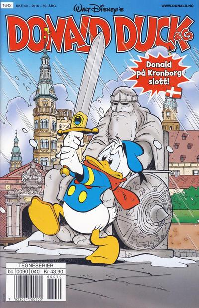 Cover for Donald Duck & Co (Hjemmet / Egmont, 1948 series) #40/2016