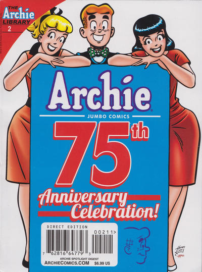 Cover for Archie Spotlight Digest: Archie 75th Anniversary Digest (Archie, 2016 series) #2