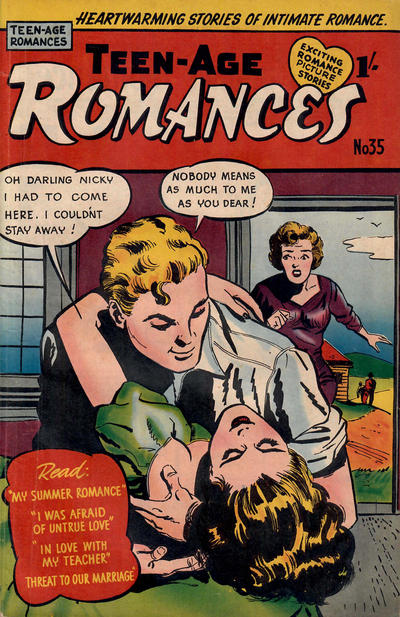 Cover for Teen-Age Romances (Magazine Management, 1954 ? series) #35