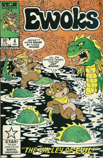 Cover for The Ewoks (Marvel, 1985 series) #4 [Direct]