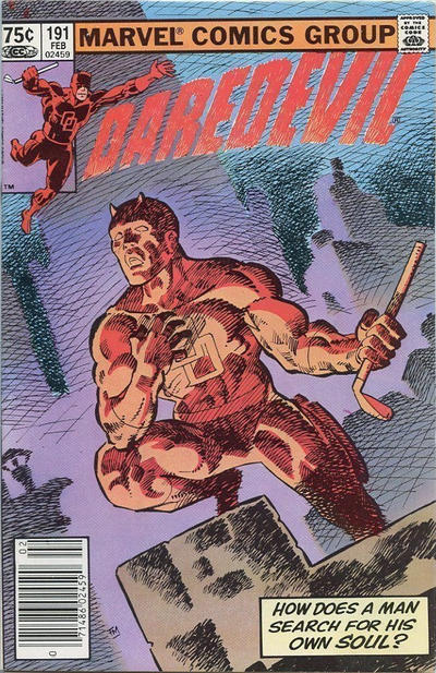 Cover for Daredevil (Marvel, 1964 series) #191 [Newsstand Edition]