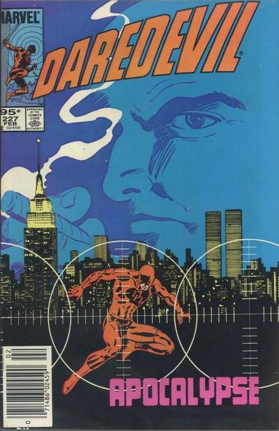 Cover for Daredevil (Marvel, 1964 series) #227 [Direct]