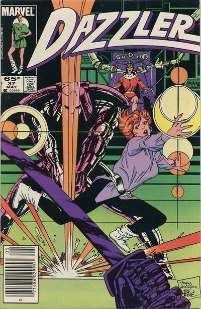 Cover for Dazzler (Marvel, 1981 series) #37 [Direct Edition]