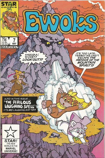 Cover for The Ewoks (Marvel, 1985 series) #7 [Direct]