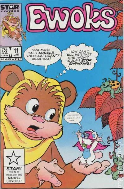 Cover for The Ewoks (Marvel, 1985 series) #11 [Direct]