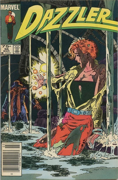 Cover for Dazzler (Marvel, 1981 series) #36 [Direct Edition]