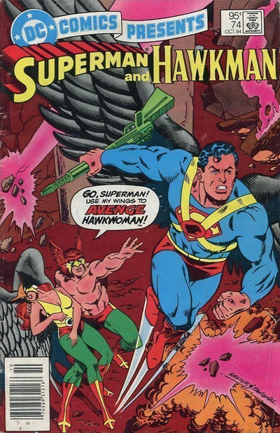 Cover for DC Comics Presents (DC, 1978 series) #74 [Direct]
