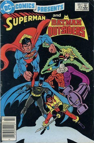 Cover for DC Comics Presents (DC, 1978 series) #83 [Newsstand]