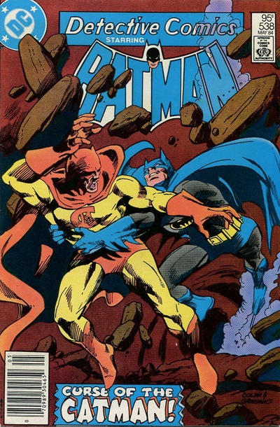 Cover for Detective Comics (DC, 1937 series) #538 [Direct Edition]