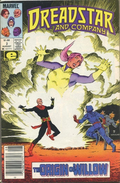 Cover for Dreadstar and Company (Marvel, 1985 series) #2 [Canadian]