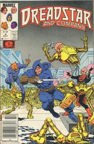 Cover for Dreadstar and Company (Marvel, 1985 series) #4 [Canadian]