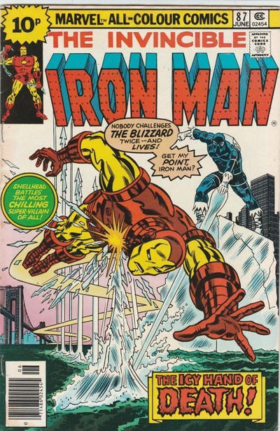 Cover for Iron Man (Marvel, 1968 series) #87 [25c Variant]