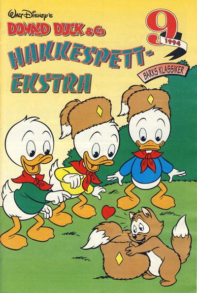 Cover for Donald Duck & Co Ekstra [Bilag til Donald Duck & Co] (Hjemmet / Egmont, 1985 series) #9/1994