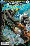 Cover for Aquaman (DC, 2016 series) #8 [Brad Walker / Drew Hennessy Cover]