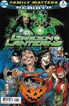 Cover for Green Lanterns (DC, 2016 series) #8 [Robson Rocha / Joe Prado Cover]