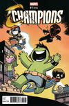 Cover Thumbnail for Champions (2016 series) #1 [Skottie Young Variant]