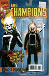 Cover Thumbnail for Champions (2016 series) #1 [John Tyler Christopher Action Figure (Classic Ghost Rider)]