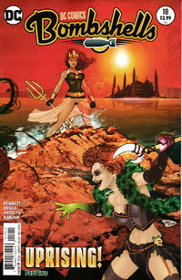 Cover Thumbnail for DC Comics: Bombshells (DC, 2015 series) #18